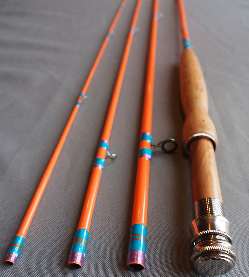 Ready To Fish Orange 7 Wt 9