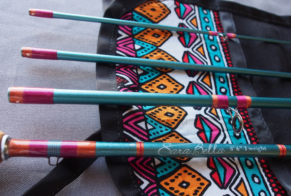 Ready To Fish Sparkly Teal 3 Wt 8 6