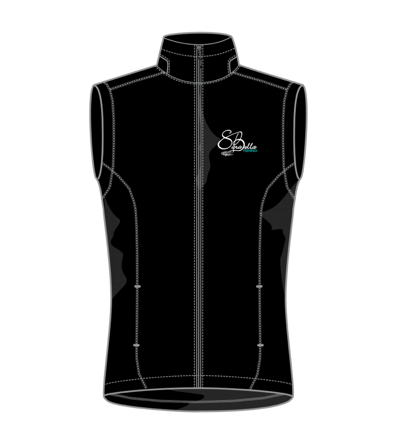 SB Women's Black Fleece Vest